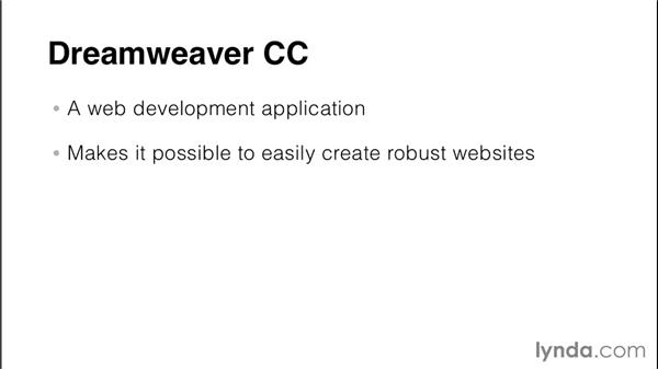 Understanding the Internet and websites: Creating a First Website in Dreamweaver CC 2014