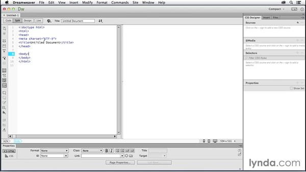 Creating your first webpage: Creating a First Website in Dreamweaver CC 2014