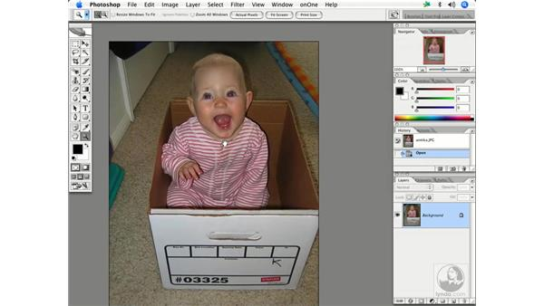 Removing redeye: Enhancing Digital Photography with Photoshop CS2