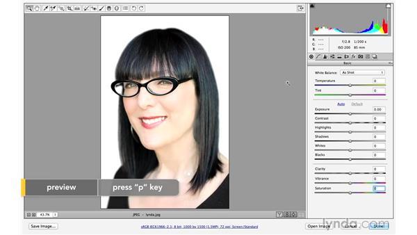 Previews in CC versus CC 2014 (CC 2014.1): Photoshop CC for Photographers: Camera Raw 8 Intermediate