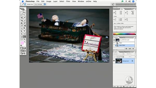 Fixing color with levels/curves 2: Enhancing Digital Photography with Photoshop CS2