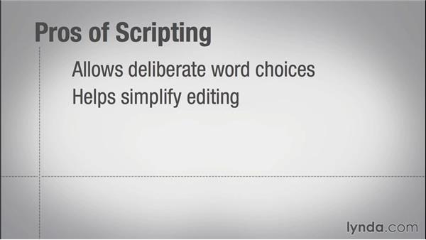 To script or not to script?: Instructional Design Essentials: Creating Video Training
