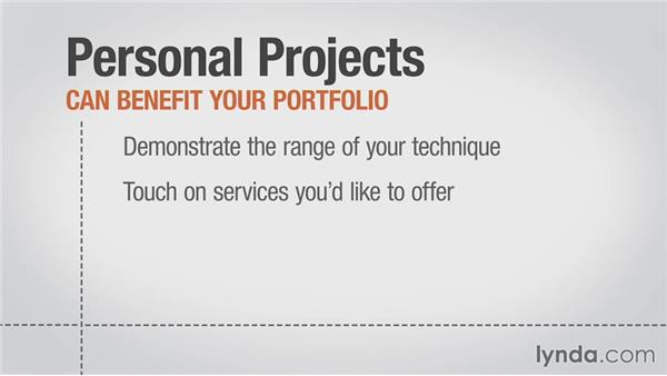 Personal vs. paid projects: Planning a Web Design Portfolio: Getting a Job
