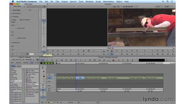 Tracking masks in Avid Media Composer: Video Post Tips Weekly