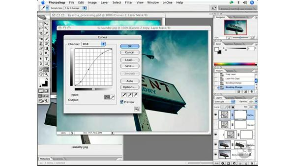 Cross-processing with curves 2: Enhancing Digital Photography with Photoshop CS2