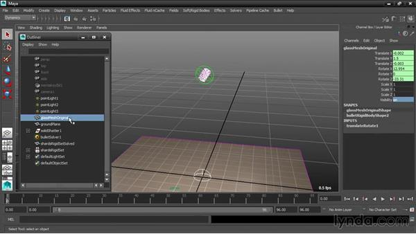 Using collision filters: Dynamic Simulations with Bullet Physics in Maya
