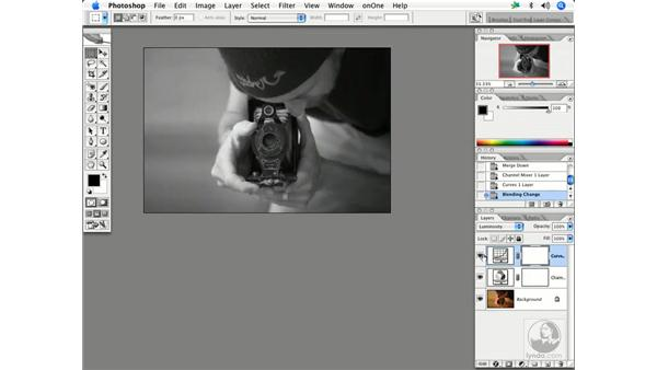Black and white conversion 2: Enhancing Digital Photography with Photoshop CS2