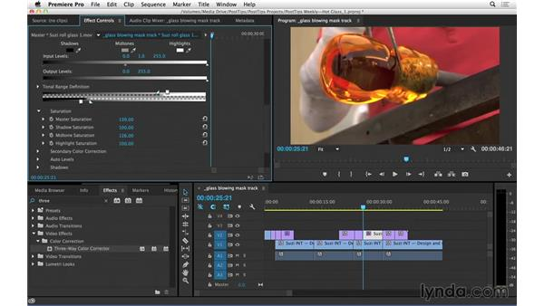 Tracking masks in Premiere Pro v. 2014.1: Video Post Tips Weekly