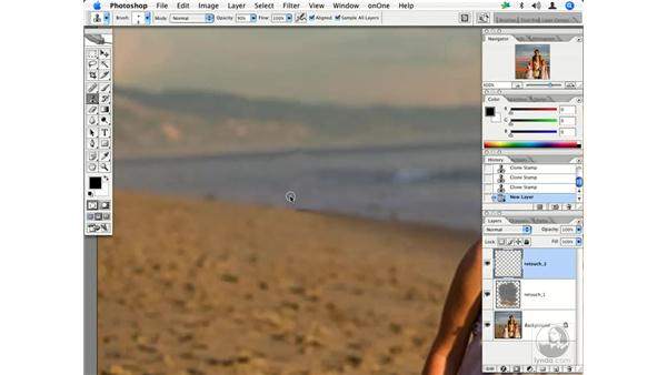 People - removing distractions: Enhancing Digital Photography with Photoshop CS2