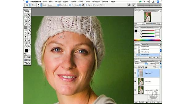 People - skin and flyaways: Enhancing Digital Photography with Photoshop CS2