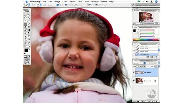People - reducing wrinkles 1: Enhancing Digital Photography with Photoshop CS2