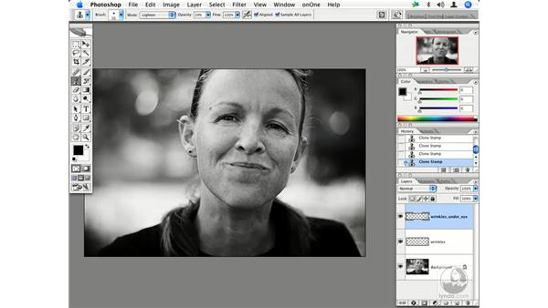 People - reducing wrinkles 2: Enhancing Digital Photography with Photoshop CS2