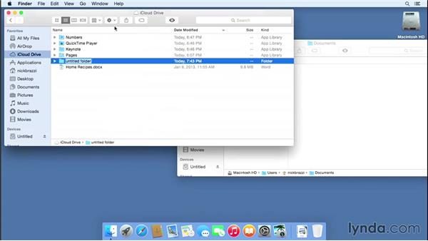 Working with iCloud Drive: Mac OS X Yosemite New Features