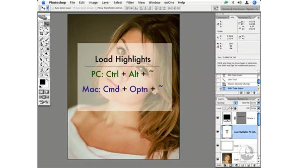People - working with highlights: Enhancing Digital Photography with Photoshop CS2