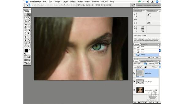 People - enhancing eyes and eyelashes: Enhancing Digital Photography with Photoshop CS2