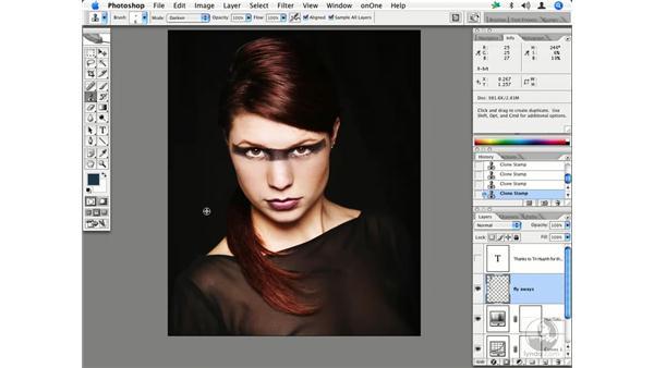Fashion retouching 1: Enhancing Digital Photography with Photoshop CS2