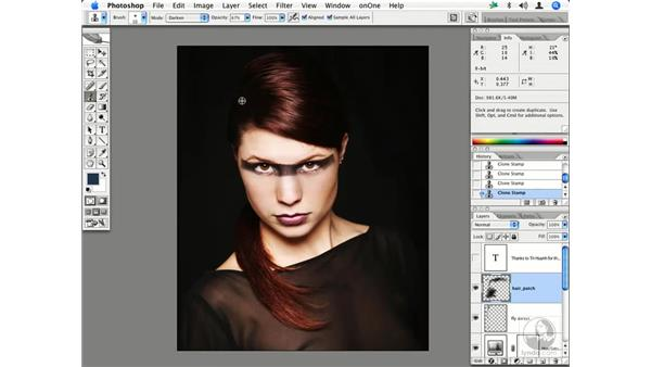 Fashion retouching 2: Enhancing Digital Photography with Photoshop CS2