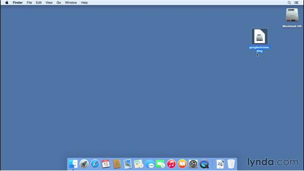 Installing from a CD or downloading from the web: Mac OS X Yosemite Essential Training