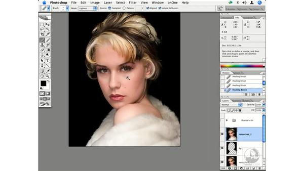 Fashion retouching workflow 2: Enhancing Digital Photography with Photoshop CS2