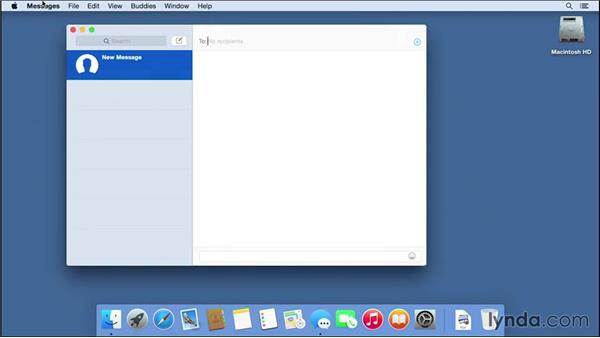 Passing phone calls and text messages between a Mac and an iPhone: Mac OS X Yosemite Essential Training