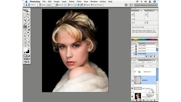 Fashion retouching workflow 3: Enhancing Digital Photography with Photoshop CS2
