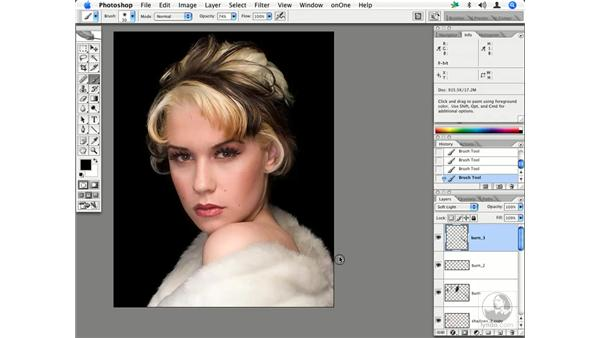 Fashion retouching workflow 5: Enhancing Digital Photography with Photoshop CS2