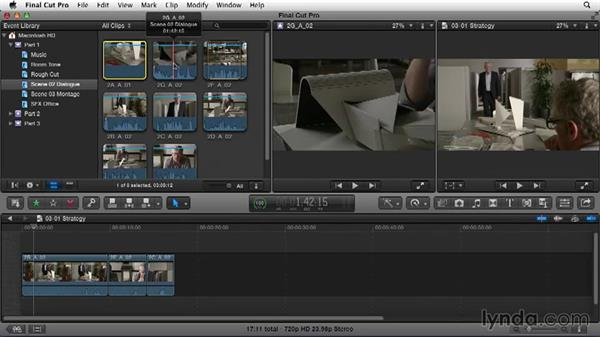 Planning an editing strategy: Narrative Scene Editing with Final Cut Pro X v10.1.x