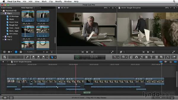Simplifying your timeline: Narrative Scene Editing with Final Cut Pro X v10.1.x