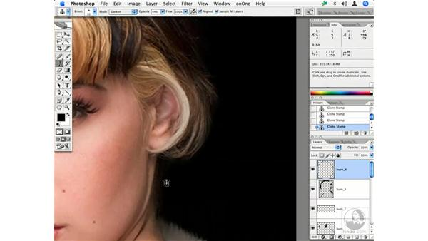Fashion retouching workflow 6: Enhancing Digital Photography with Photoshop CS2