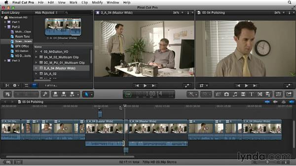 Polishing: Narrative Scene Editing with Final Cut Pro X v10.1.x