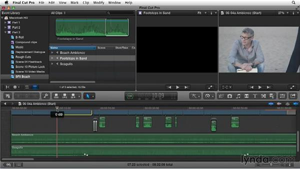 Building a soundscape: Narrative Scene Editing with Final Cut Pro X v10.1.x
