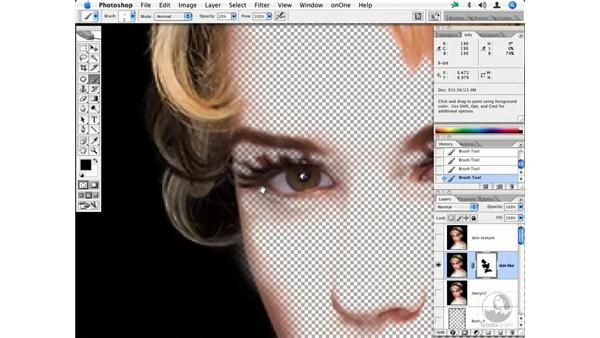 Fashion retouching workflow 8: Enhancing Digital Photography with Photoshop CS2