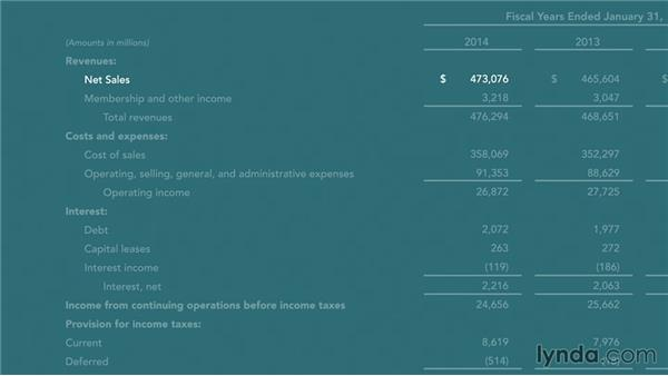 The income statement: Finance Fundamentals