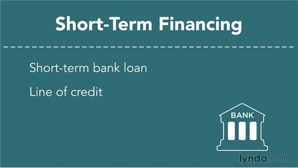 Obtaining short-term financing: Finance Fundamentals