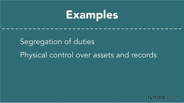 Internal controls: Finance Fundamentals
