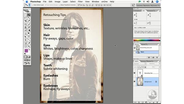 Retouching tips: Enhancing Digital Photography with Photoshop CS2
