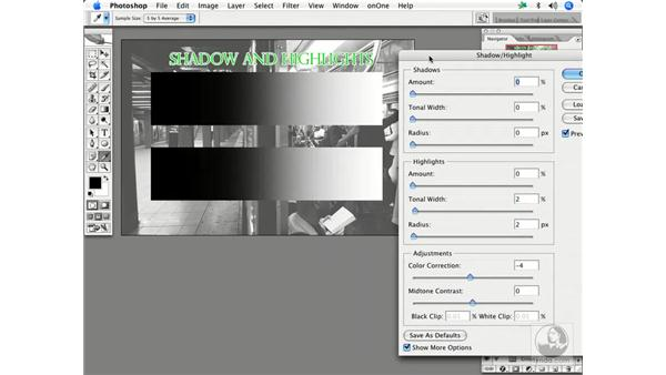 Understanding shadow/highlights: Enhancing Digital Photography with Photoshop CS2