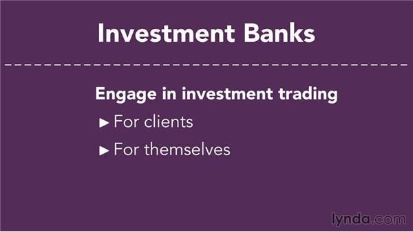Investment banks: Finance Fundamentals