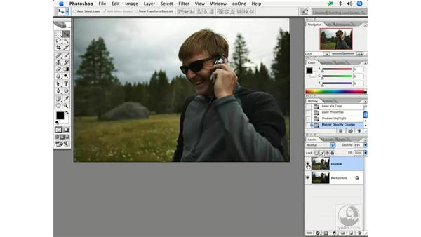 Using shadow/highlights 1: Enhancing Digital Photography with Photoshop CS2