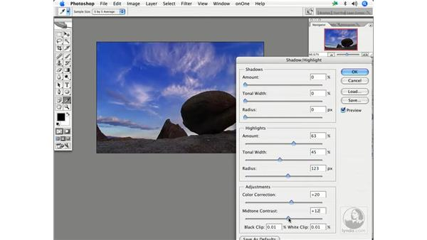 Using shadow/highlights 2: Enhancing Digital Photography with Photoshop CS2