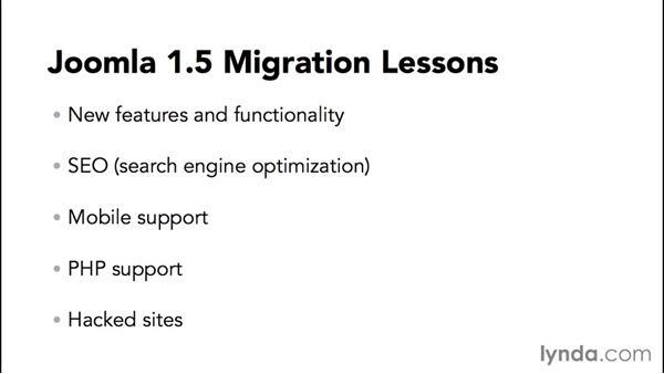 Why migrate to Joomla! 3?: Migrating from Joomla! 2.5 to Joomla! 3.3