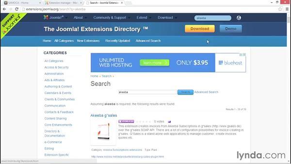 Evaluating extensions: Migrating from Joomla! 2.5 to Joomla! 3.3