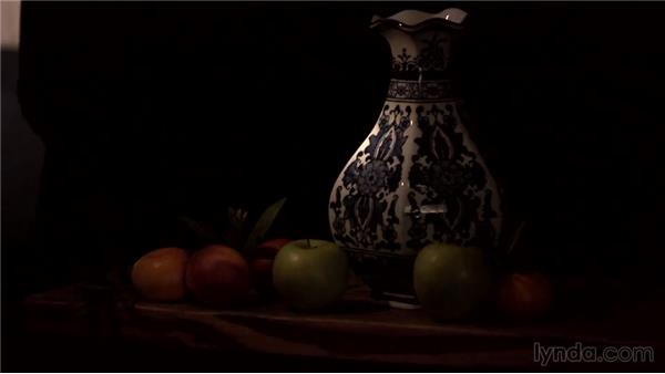Comparing shooting methods: Lighting and Photographing a Still Life
