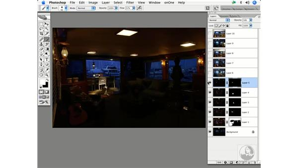 Multiple exposures in architecture 3: Enhancing Digital Photography with Photoshop CS2