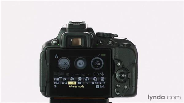 A guided tour: Buttons and controls: Up and Running with the Nikon D5200 and D5300