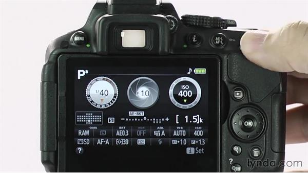 Using Flexible Program mode: Up and Running with the Nikon D5200 and D5300
