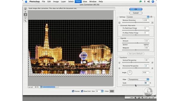 Lens Correction filter - architecture: Enhancing Digital Photography with Photoshop CS2
