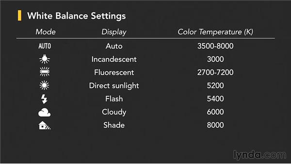 White balance: Up and Running with the Nikon D5200 and D5300