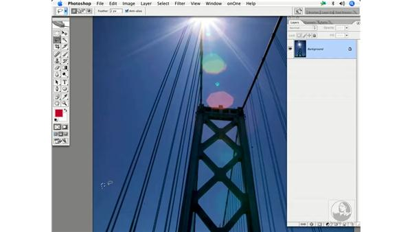 Dust removal 1: Enhancing Digital Photography with Photoshop CS2