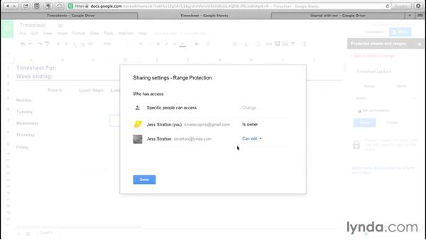 Using Google Sheets to make templates: Monday Productivity Pointers